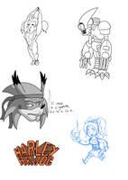 Harley Havoc Doodle Dump 2 by AniMerrill