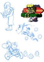 Random Doodle Dump by AniMerrill