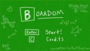 Boardom for Ludum Dare 38, theme Small World by AniMerrill