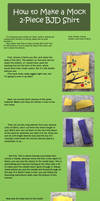Mock 2-Piece BJD Shirt Tutorial by RodianAngel