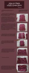 How to Make BJD Dress Shirts by RodianAngel