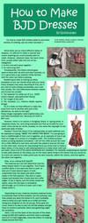 How to Make BJD Dresses by RodianAngel