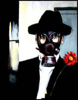 The Gas Mask Man by Dramatica00