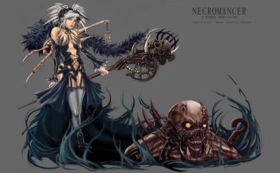 Necromancer-Summon Abomination by LoneWolf64