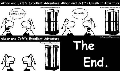 Akbar and Jeff's Excellent Adventure by SierratheLurker