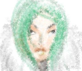 snowy girl by yawn-l33