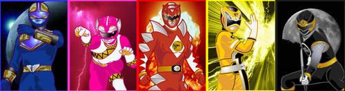 Fusion Rangers by RiderB0y