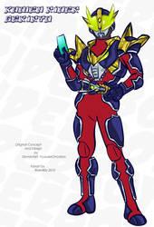 Kamen Rider Gekiryu by RiderB0y