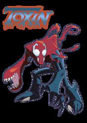TOXIN Symbiote by RiderB0y