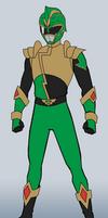 HyperForce Green Ranger by RiderB0y