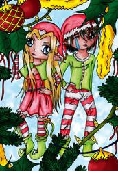 Christmas Elves by Elythe