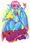:COLLAB: Monster Girl by Elythe