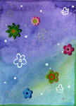 5Min-ACEO #004 - Flowers by Elythe