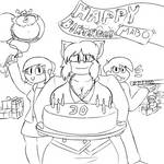 Gift: Happy Birthday Mabo! by TheKairii27