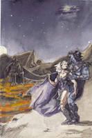 Keldor and Evil-Lyn by MissLizz