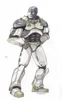 Buzz Lightyear, redesigned by MissLizz