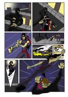 Kung-Fu comic by Khaosenvy