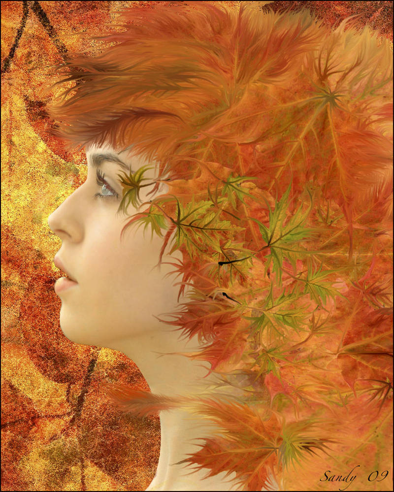 Lady Autumn by sandpiperw
