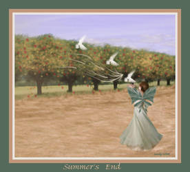 Summer's End by sandpiperw