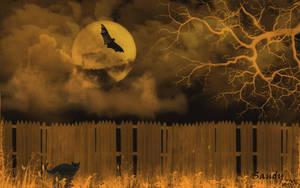 Halloween Night by sandpiperw