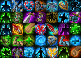 Skill Icons by CaseyD2K