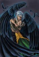 Black Winged Angel by Tenshiryuu