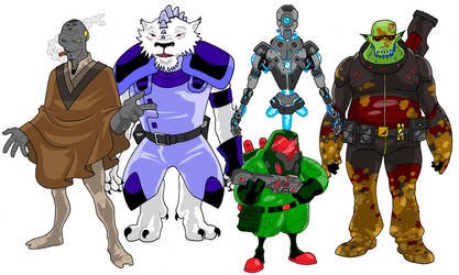Alien designs03 by onecoyote