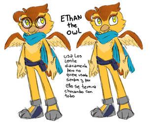 .:Ethan the owl:. by Cintia-Lombax