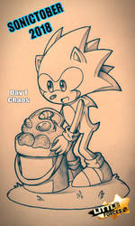 .:SonicTober:..:Day 1 Chaos:. by Cintia-Lombax