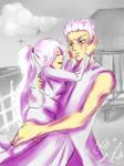 Valentine Commissh: Akira And Kensei by chromic7sky