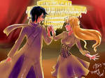 Valentine Commish: Shall We Dance? by chromic7sky