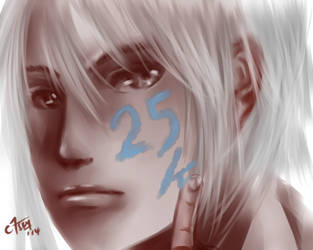 Thank you For 25k pageviews~~!! by chromic7sky