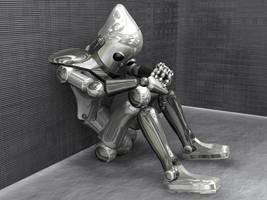Robot Solitudine by Nameless74