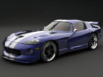 Viper GTS Coupe HDRI by Nameless74