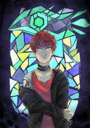 Unknown's Stained Glass by Label-your-Best