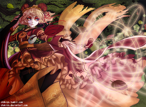 Warrior by Chokico