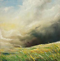 Stormy Fields III by lollypop3000