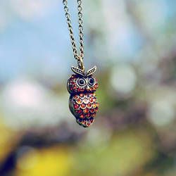 .: Owl :.. by BlueColoursOfNature