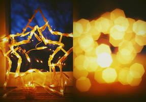 Christmas Lights by BlueColoursOfNature