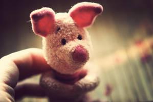 piglet by BlueColoursOfNature