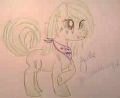 request: !Jade! for Ukulelewolfeh by Leighton-Ilona