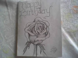 birthday card 4 wife by iamriki