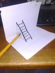 3d Ladder1 by iamriki