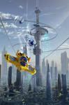 Pulp Sci-Fiction by serg4d