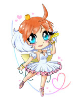 Chibi Princess Tutu by TropicalSnowflake