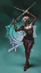 Lineage 2 Spectral Dancer by fear-sAs