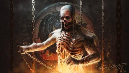 Scorpion - Mortal Kombat art by fear-sAs