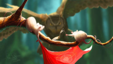 Owl and mice by fear-sAs