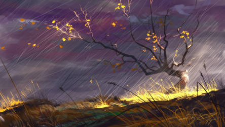 October Rain by fear-sAs