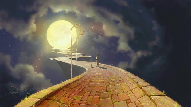 Moon road by fear-sAs